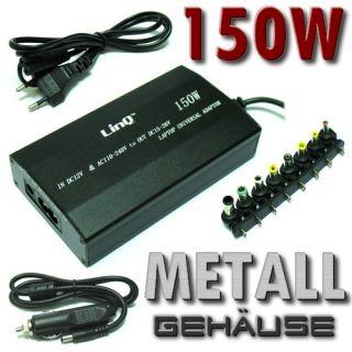 Notebook Laptop 150W Netzteil 12V   230V USB Universal Ladekabel