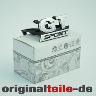 Original VW Tuning Golf 5 GT Sport Schriftzug Kuehlergrill Clip