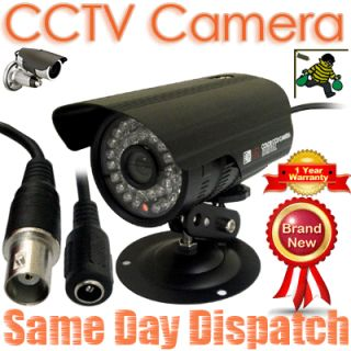 CCTV SPY Bullet Security DVR Camera PAL TV LED Infrared Outdoor Day