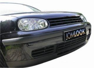 Kühlergrill VW GOLF 4 Sportgrill Frontgrill Grill schwarz ohne Emblem