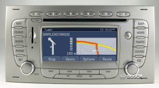 SD Radio Navigation Blaupunkt TravelPilot FX Nachruest Kit FORD KUGA