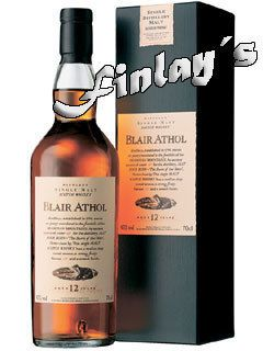 Blair Athol Whisky 12 Jahre Flora & Fauna 0,7 L 76,78 €/L