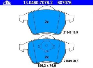 ATE Bremsbeläge 13.0460 7076.2 vorne FORD Galaxy / SEAT Alhambra / VW