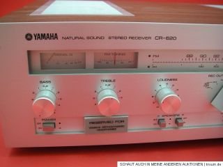YAMAHA CR 620 Stereo Receiver RADIO Verstärker VINTAGE 60er 70er