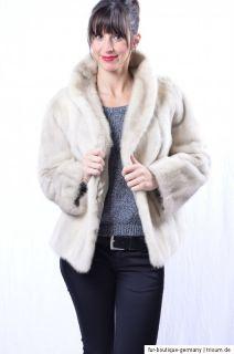 SAGA MINK TOURMALINE Fur Jacket Nerzjacke nerzmantel vison норка