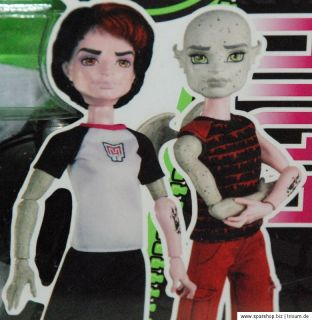 Monster High Create A Monster Gargoyle and Vampire Boy Brandneu 2012