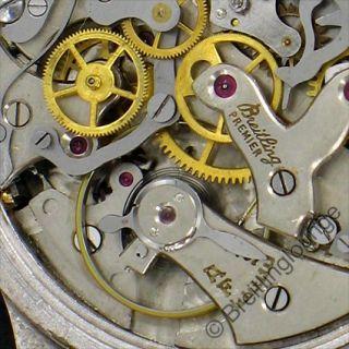 BREITLING Uhr   Chronomat 801   Mondphase Rarität 1948