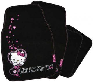 Dieses trendige Fussmatten Set im Hello Kitty ist mit seiner