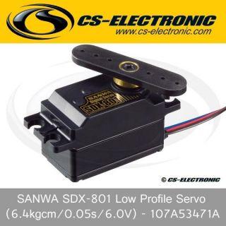 CS SANWA SDX 801 Low Profile Servo   107A53471A