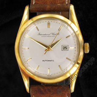 IWC Schaffhausen Uhr in 18 Kt Gold AUTOMATIC mit dem Kaliber 853 1 aus