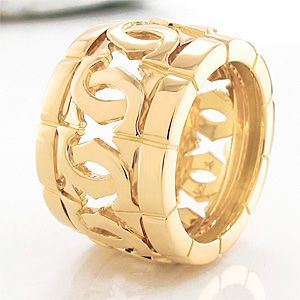 Ring Cartier COLLECTION LOGO CARTIER 750/  Gelbgold