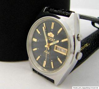 Orient M4640 black day & date automatic Automatik Uhr men gents watch