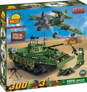 COBI 2411 SMALL ARMY Special Forces NEW 300 Brick Set