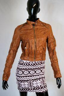 Biker Jacke,Punk Rock,Imitat Lederjacke Kurzjacke Vintage Blazer Weste