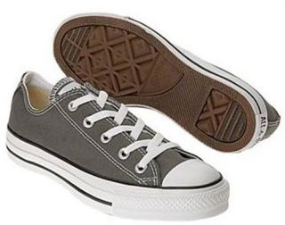 CONVERSE CHUCKS ALL STAR LO LOW NEU GRAU TEXTIL SCHUHE SNEAKER Gr 41,5