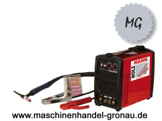 Holzmann WIG/TIG Inverter Schweißanlage TISA 200