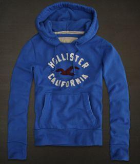 Herren Pullover Hoodie in Blau  Hollister  Größe L  Versand aus