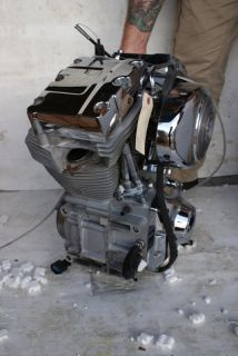 Harley Davidson engine 1550 Harley Davidson screaming eagle motor FXD