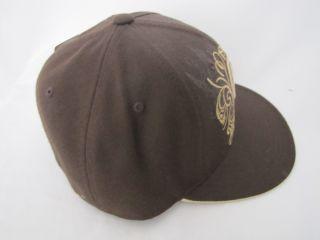 Ecko Unltd. Envy Hat Cap braun beige 7 1/2 NEU