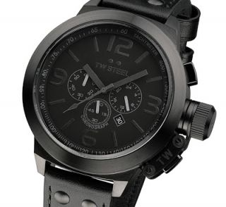 Canteen Style Cool Black 2012 Herrenuhr Chronograph TW 821 mens watch