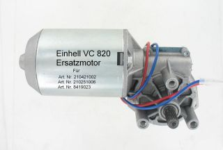 Motor für Einhell Garagentorantriebe VC 820, 24 V