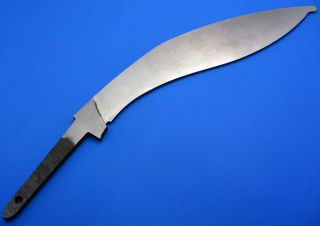 Camillus Factory Kukri Machete Knife Making Fixed Blade Blank New Old