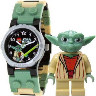 LEGO Star Wars Kinderuhr Armbanduhr für Kinder Jedi Meister Yoda