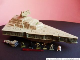 STAR WARS MICRO MACHINES☠*STAR DESTROYER*☠+ FIGUREN