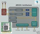 Atheros AR9285 AR5B95 Mini pci e 802.11 n Wireless Card