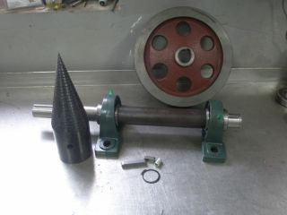 Holzspalter Kegelspalter Drillkegel electric motor 80