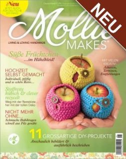 MOLLIE MAKES 01/2012, Living & Loving Handmade, Deutsche Ausgabe Neu
