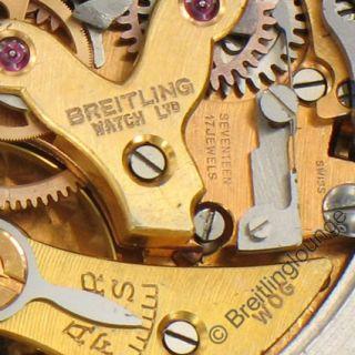 BREITLING Uhr Navitimer Cosmonaute 809 AOPA vergrößerte Perlen