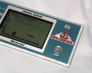 NINTENDO Super MARIO Bros Crystal Screen game & watch Excellent