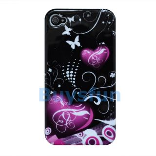 New Heart Hard Cover Case Skin For Apple iPhone 4 4G