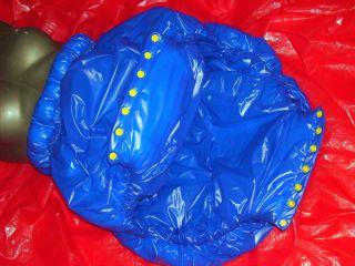WINDELHOSE PVC WEICHFOLIE*VERSCHWEISSTE NÄHTE*rubberADULT BABY DIAPER