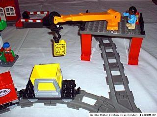 Lego Duplo Intelli Eisenbahn 3325 Code Steine Set grosse Anlage