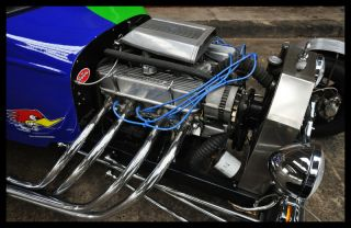 HOT ROD in cooler Optik Echter Eyecatcher V8 Power (Hotrod / Ford