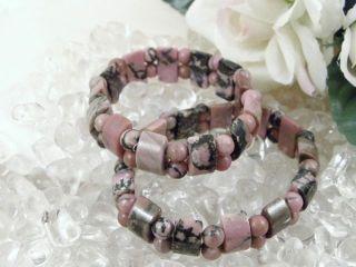 Rhodonit Top Design Armband