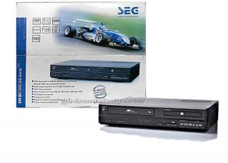 SEG DVR 841 DVD Recorder / Video VHS  Player und Recorder  Kombigerät