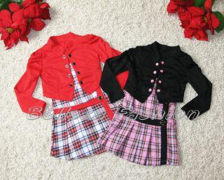 alle Größe ♥ Elegante Mädchen Set ♥ Kleid + Bolero ♥ 2
