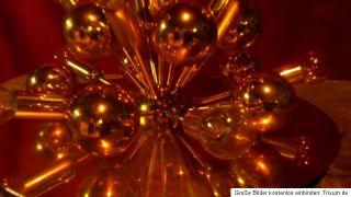 70er Jahre Messing Lampe Wandlampe Deckenlampe Space Age Panton Ära
