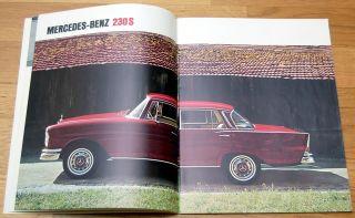1965 MERCEDES BENZ 200/200D/230/230S Prospek/brochure