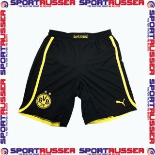 Puma BVB Away Kinder Shorts 2012/2013 black/yellow