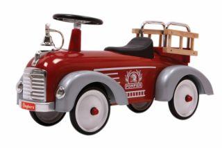 Baghera Rutscher Feuerwehr   Rutschauto Feuerwehr Bobby Car