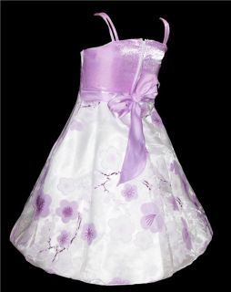 alle Größe ☆ Festkleid/Blumen Mädchen Kleid + Bolero