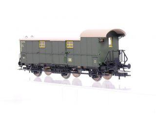 Fleischmann 5067 K, 3 achsiger Gepäckwagen Pw3 der DB, grün, KKK