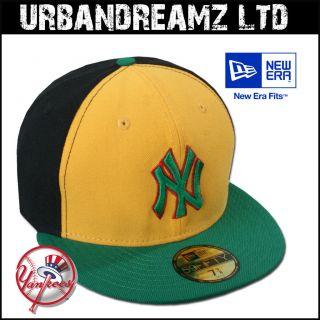 ERA CAP NEW YORK YANKEES WORLD BLOCK JAMAIKA MLB 59FIFTY #851