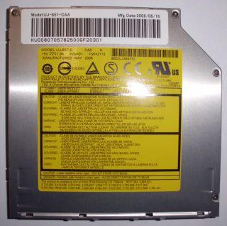 Original UJ 857 C DVD Brenner Notebook Laufwerk UltraSlim IDE ohne