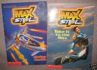 MAX STEEL Dan Danko  Tom Mason Sacrifices & Strangers 0439225612