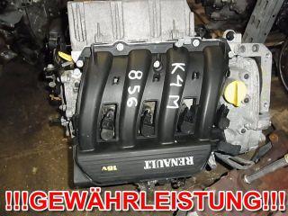 Motor K4M 856 RENAULT MEGANE III Grandtour FLEXFUEL 1,6i 16V 48tkm
